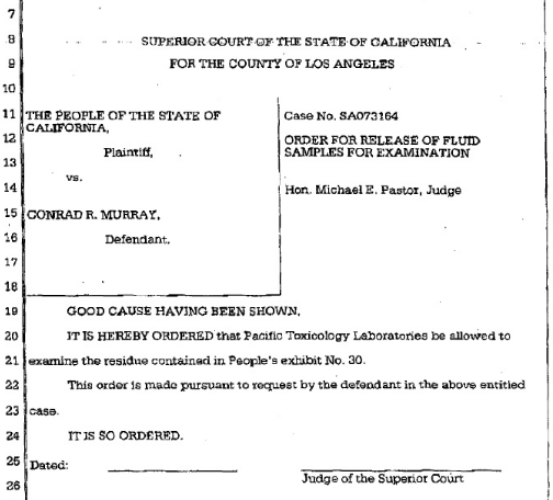 Information about Conrad Murray futher trial and sentece Cm710