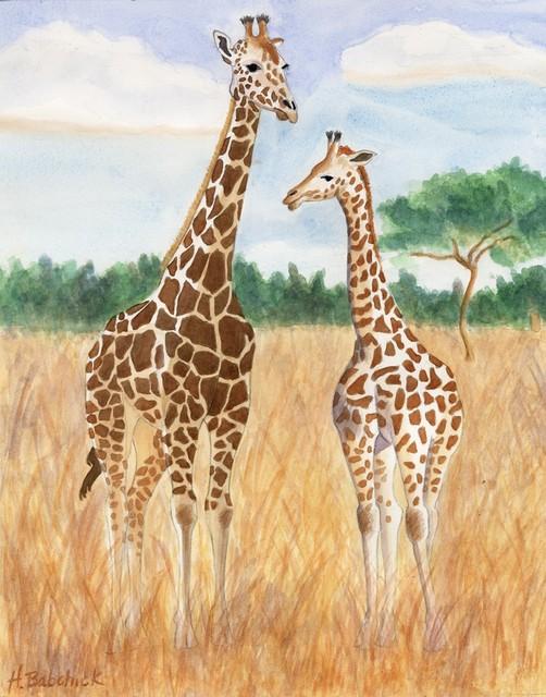 Les animaux peints à l'AQUARELLE - Page 7 Aq_gi10