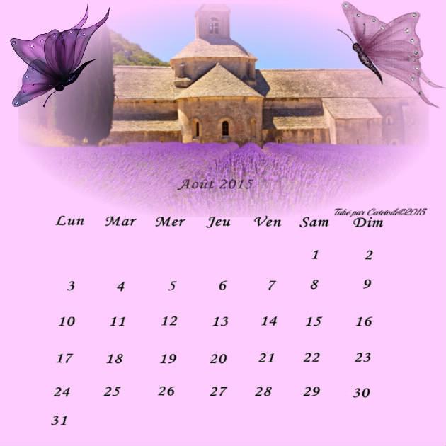 CALENDRIERS ORIGINAUX DES MOIS DE L ANNEE PAR ORDRE ALPHABETIQUE - Page 41 Cal_ao10