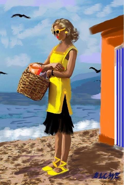 """Illustrations ... pour l'été ... Plage et """"farniente"""" ... - Page 13 Yty_ty11"""