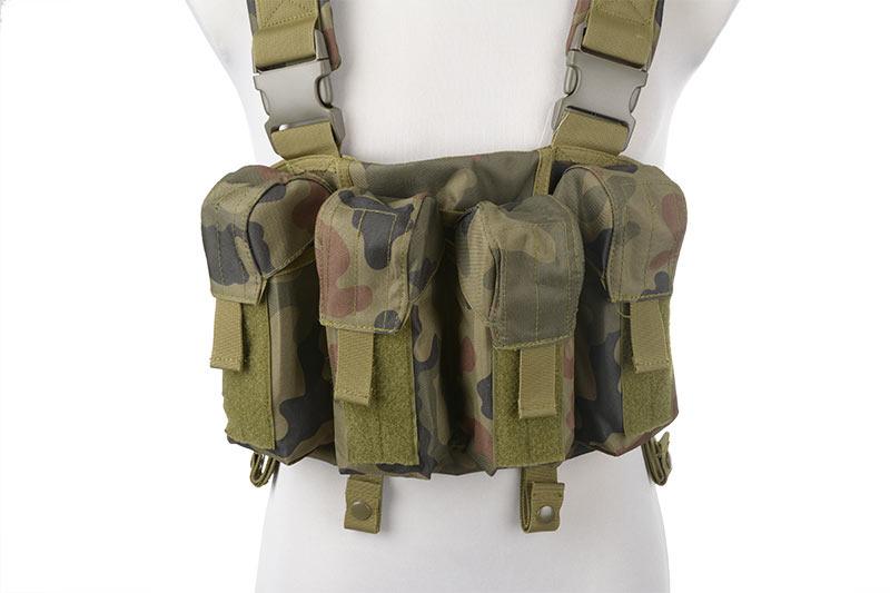 SIG 552 Commando / Chemise camo / Veste de treillis / Porte chargeurs / Chargeur de batteries Porte_10