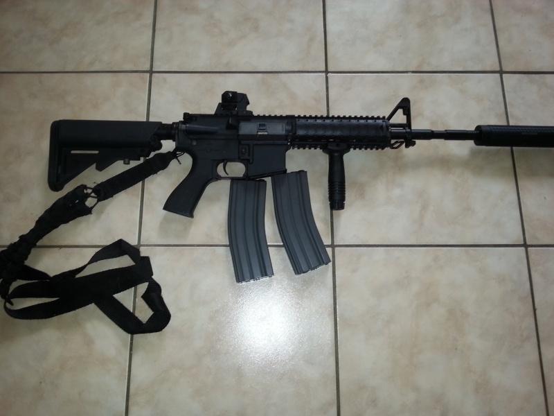 URGENT MP40 S&W ,M4 G&G et Well mb 01  20131111