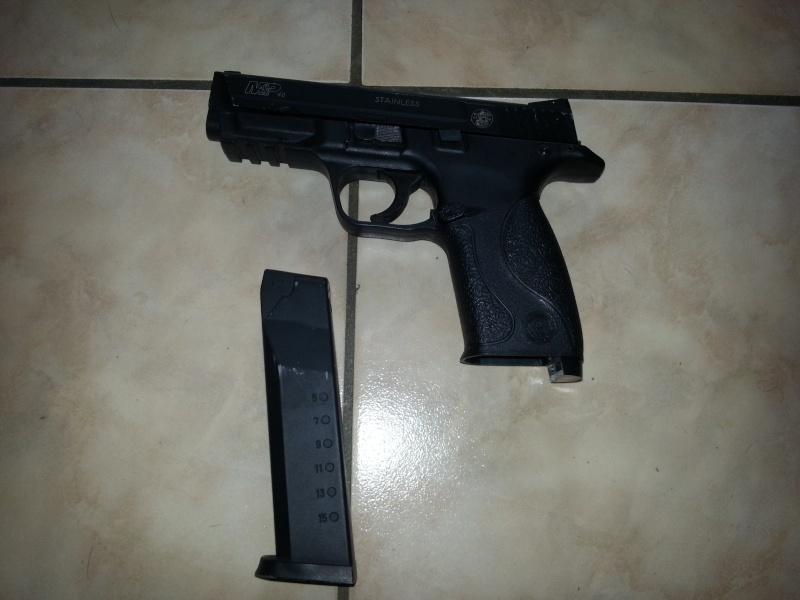 URGENT MP40 S&W ,M4 G&G et Well mb 01  20131112