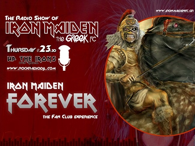 The Radio Show of Iron Maiden the Greek FC 650x4812