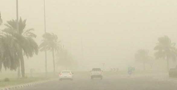 """الارصاد"""" تحذر من عواصف رملية غدا 234"""