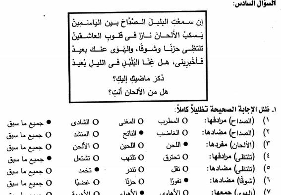 اقوى 6 محاضرات لمراجعة اللغة العربية للثانوية العامة.. مستر مصطفى فريد 3134
