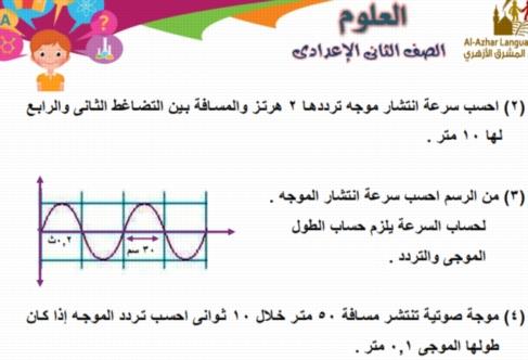 مراجعة ليلة امتحان آخر العام في العلوم س و ج للصف الثاني الاعدادي.. 47 ورقة pdf 5646