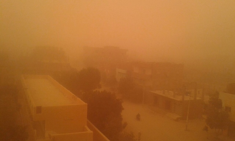 بالصور .. العواصف الرملية تضرب غرب مصر 622