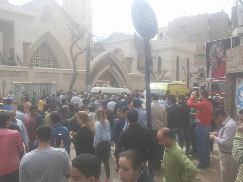 عاجل: عملية ارهابية بكنيسة مار جرجس بطنطا .. 13 حالة وفاة و42 مصاب 63248-10