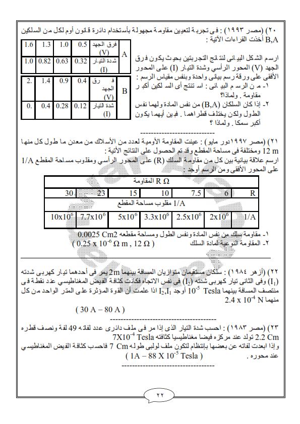 اقوى 63 مسألة فيزياء للثانوية العامة متوقعة للامتحان - صفحة 2 63oo_i10