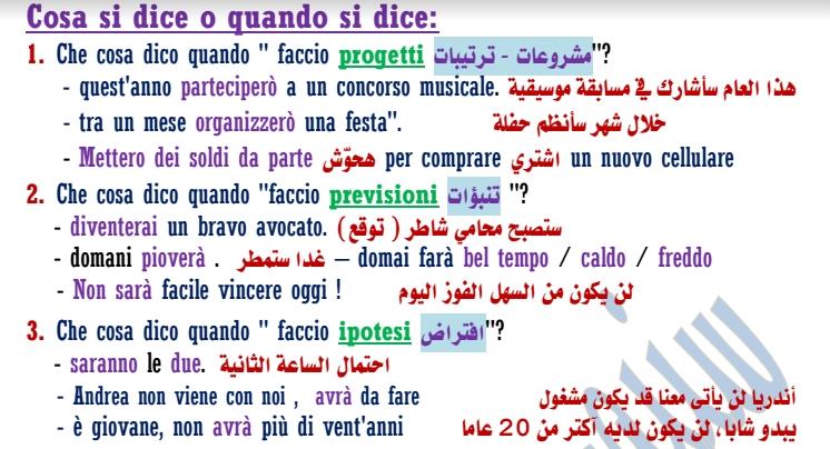لطلاب الثانوية العامة: مراجعة ايطالي مركزة.. فيها الخلاصة  8831