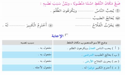 اقوى مراجعة لغة عربية للميدترم الثاني للصف الخامس ترم ثاني 2017 912