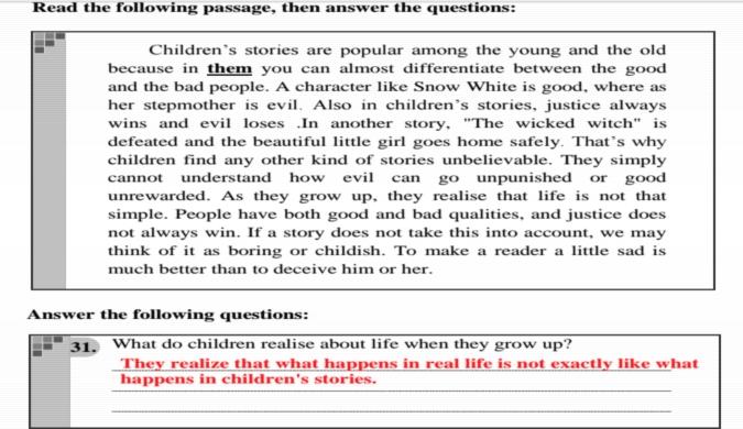 لغة انجليزية.. نماذج البوكليت الاربعة بالاجابات النموذجية لن يخرج عنهم امتحان الثانوية العامة 9949