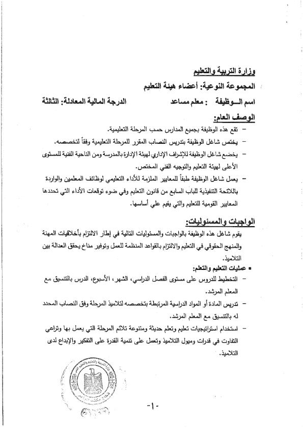 بطاقات الوصف الوظيفي الصادرة عن الاكاديمية المهنية للمعلمين I_ouea10