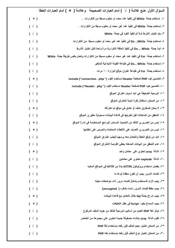 مراجعه حاسب آلي  س و ج نهائية 5 ورقات للصف الثانى الثانوى الفصل الدراسى الثانى Ou_oua10
