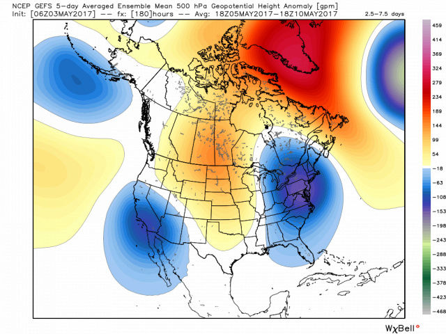 May 2017 Observations & Discussions Gefs_z10