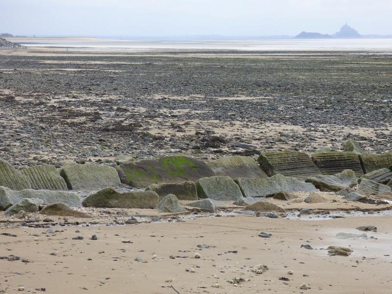 Sortie à la plage de carolles et à granville - 23 mars 2017 P1070986