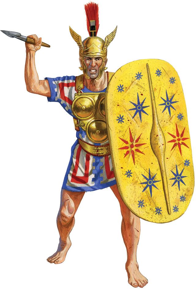 Alliés italiens de la République de Rome, IIIE-IIE siècle av JC Armour10