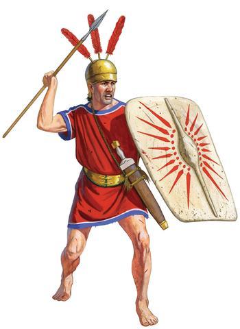 Alliés italiens de la République de Rome, IIIE-IIE siècle av JC Un_arm10