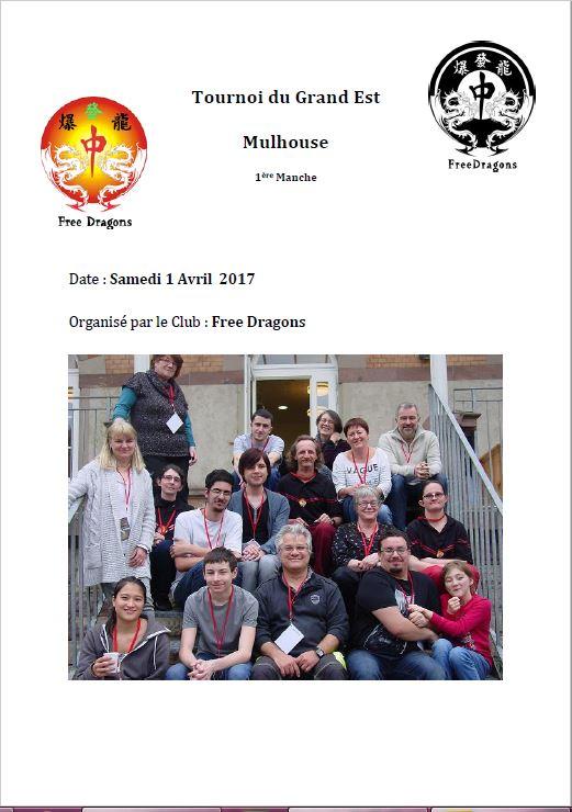 Le CHAMPIONNAT DU GRAND EST EDITION 2017 Progra10