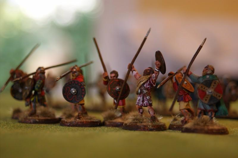 vends bande SCOTS peinte 6 points Scots610