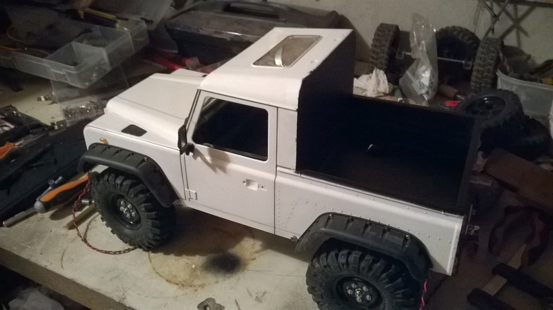 Defender 90 pickup, base HG P402 Wp_20115