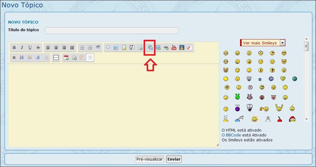 Como inserir imagens e fotos em suas mensagens - Servimg® 110