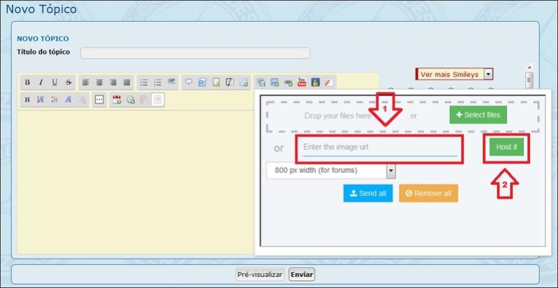 Como inserir imagens e fotos em suas mensagens - Servimg® 4a10