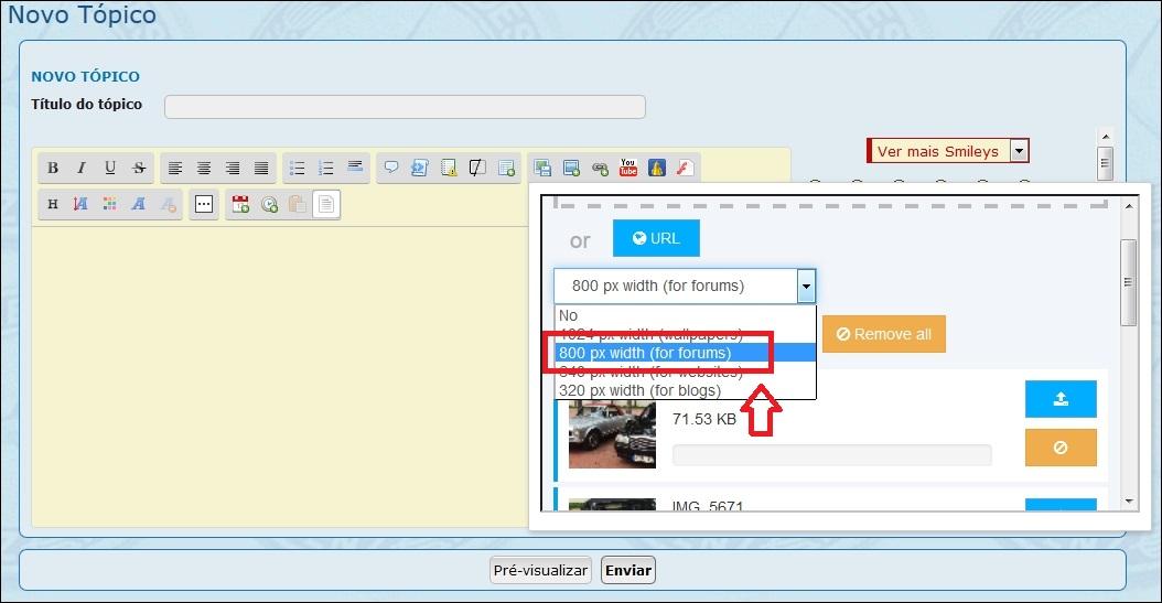 Como inserir imagens e fotos em suas mensagens - Servimg® 510