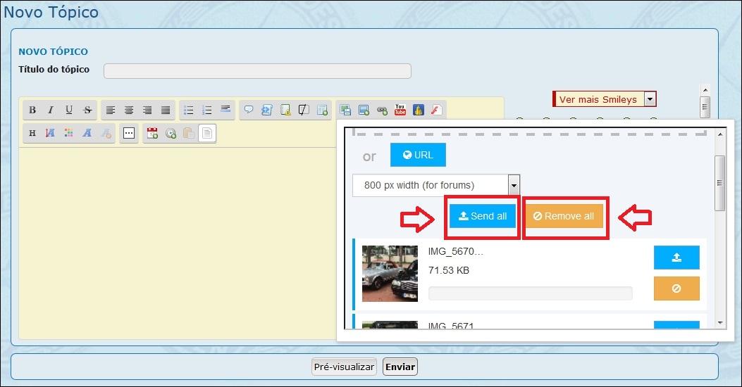 Como inserir imagens e fotos em suas mensagens - Servimg® 610