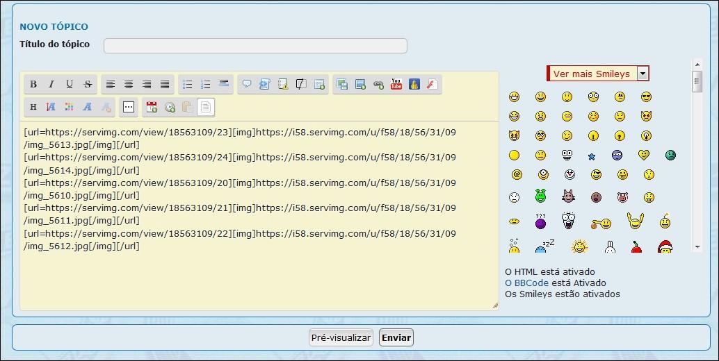 Como inserir imagens e fotos em suas mensagens - Servimg® 6b10