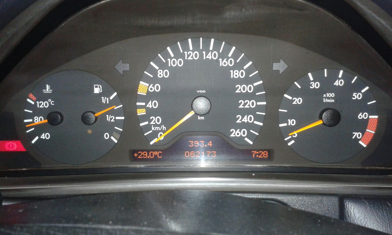 (VENDA CANCELADA): W210 E430 1998 - blindada de fábrica - R$30.000,00 Mb110