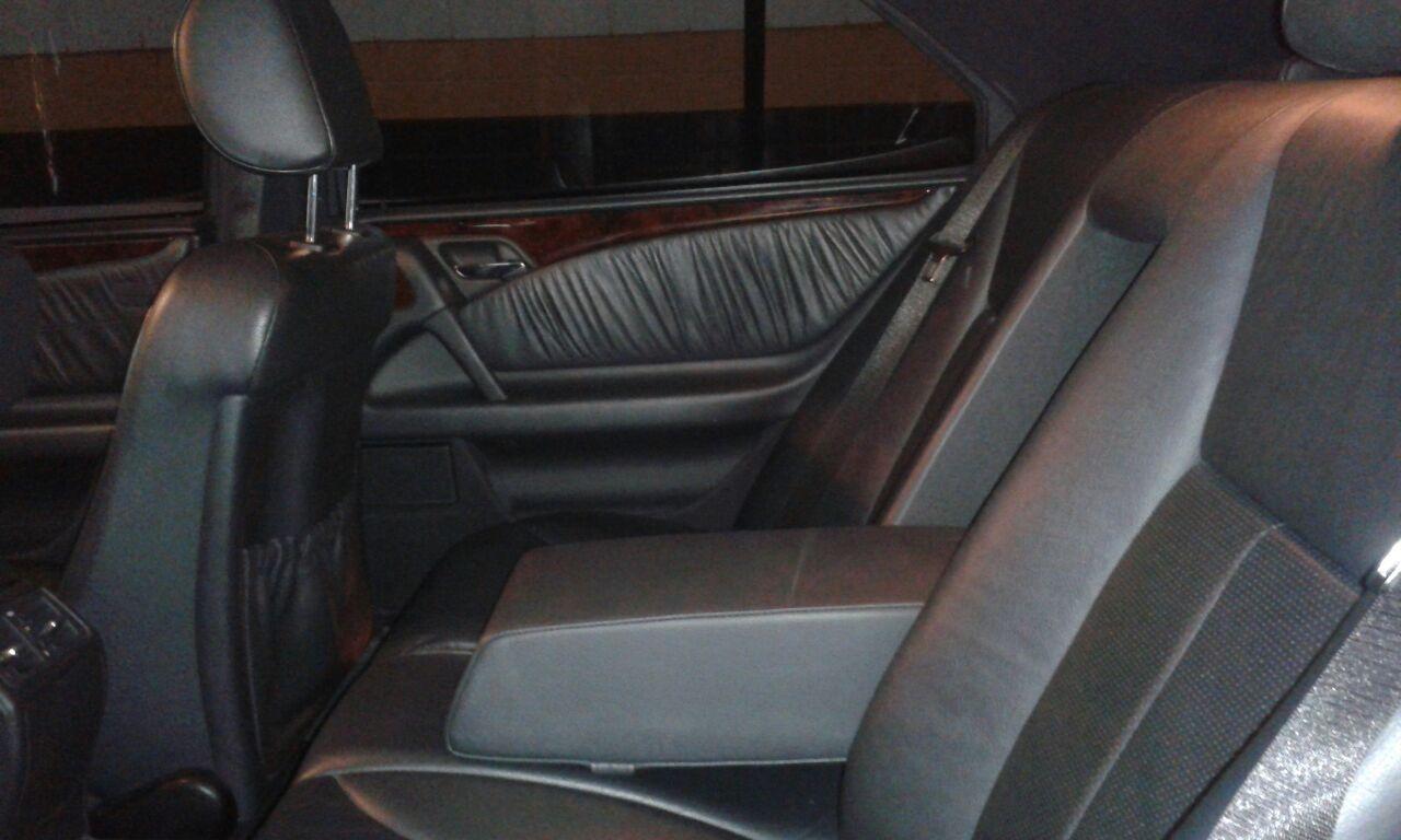 (VENDA CANCELADA): W210 E430 1998 - blindada de fábrica - R$30.000,00 Mb710