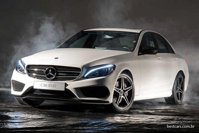 Mercedes C300 Sport com 245 cv chega por R$ 241.900 Merced22