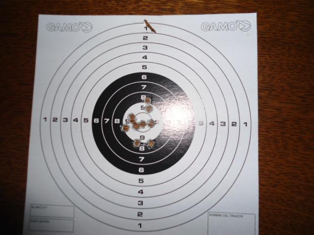 Cible à 50 métres carabine 22 LR Dsc00710