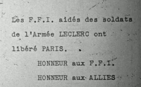 Paris après la libération, défilé troupes US Ffi10