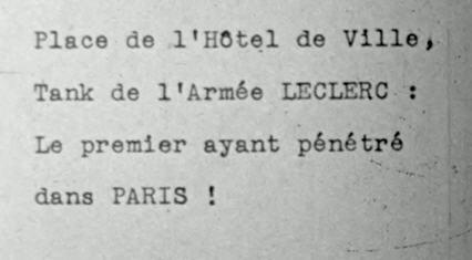 Paris après la libération, défilé troupes US Ffi110