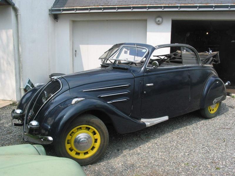 402 peugeot legere cabriolet 1938 Cor06210