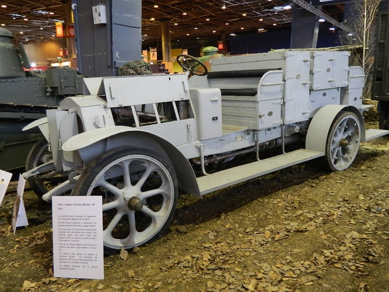 CHAR FT-17 & 1914 / 1918 à Rétromobile 2014 Convoi14