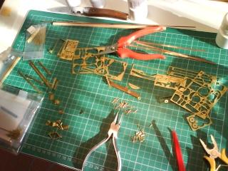 Blériot XI Version Manche - Maquette 1/10 ème AMATI / diffusion Hachette Photod10