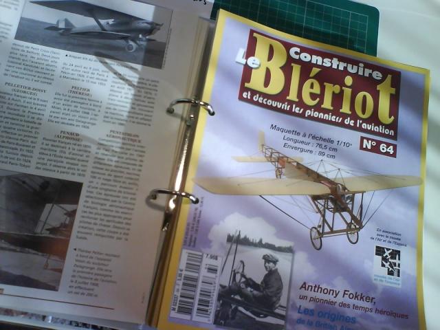 Blériot XI Version Manche - Maquette 1/10 ème AMATI / diffusion Hachette Titre_11