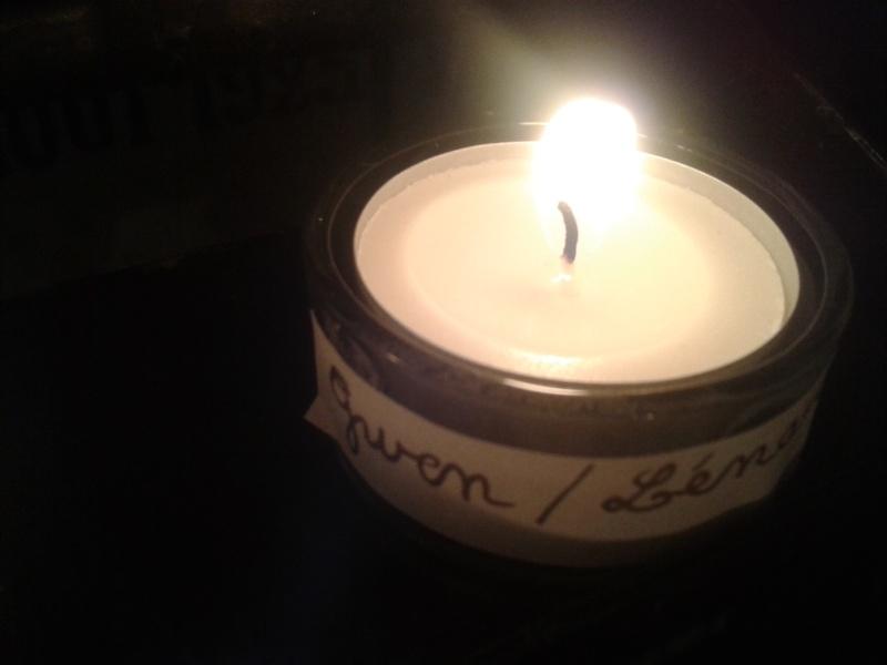 une bougie par anges qui brillera à Lourdes en cette fin d'année - Page 8 Dec20165