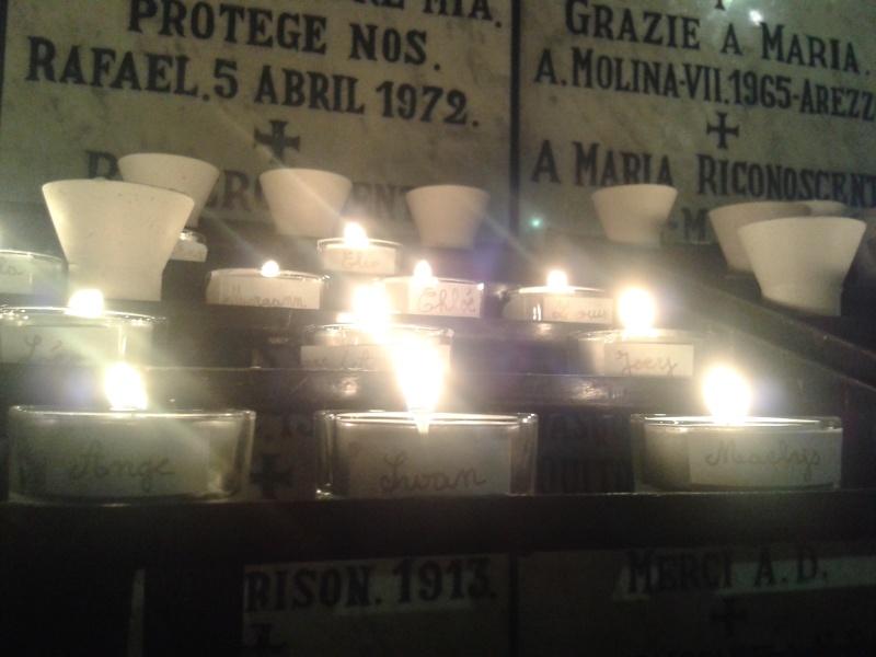 une bougie par anges qui brillera à Lourdes en cette fin d'année - Page 8 Dec20174