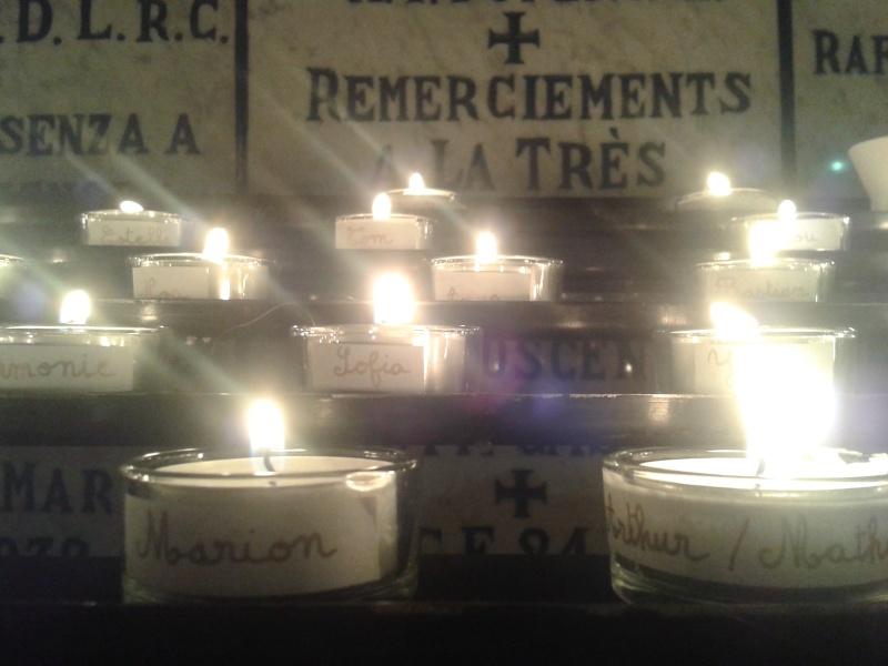 une bougie par anges qui brillera à Lourdes en cette fin d'année - Page 8 Dec20176