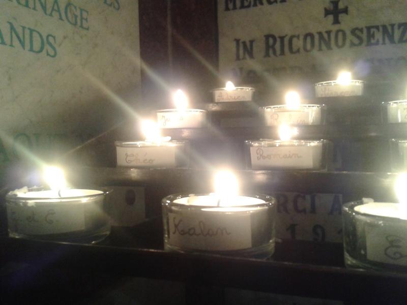 une bougie par anges qui brillera à Lourdes en cette fin d'année - Page 8 Dec20178
