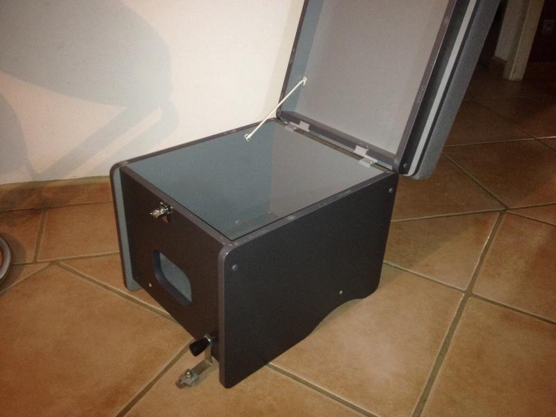 montage du coffre WC Westfalia Photo_10