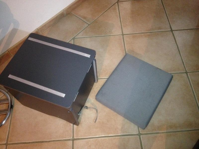 montage du coffre WC Westfalia Photo_14