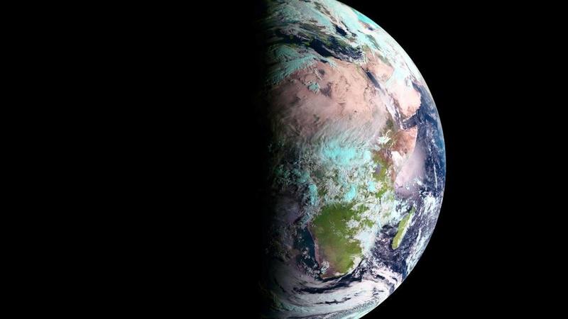 Le printemps vu de l'espace Meteos10