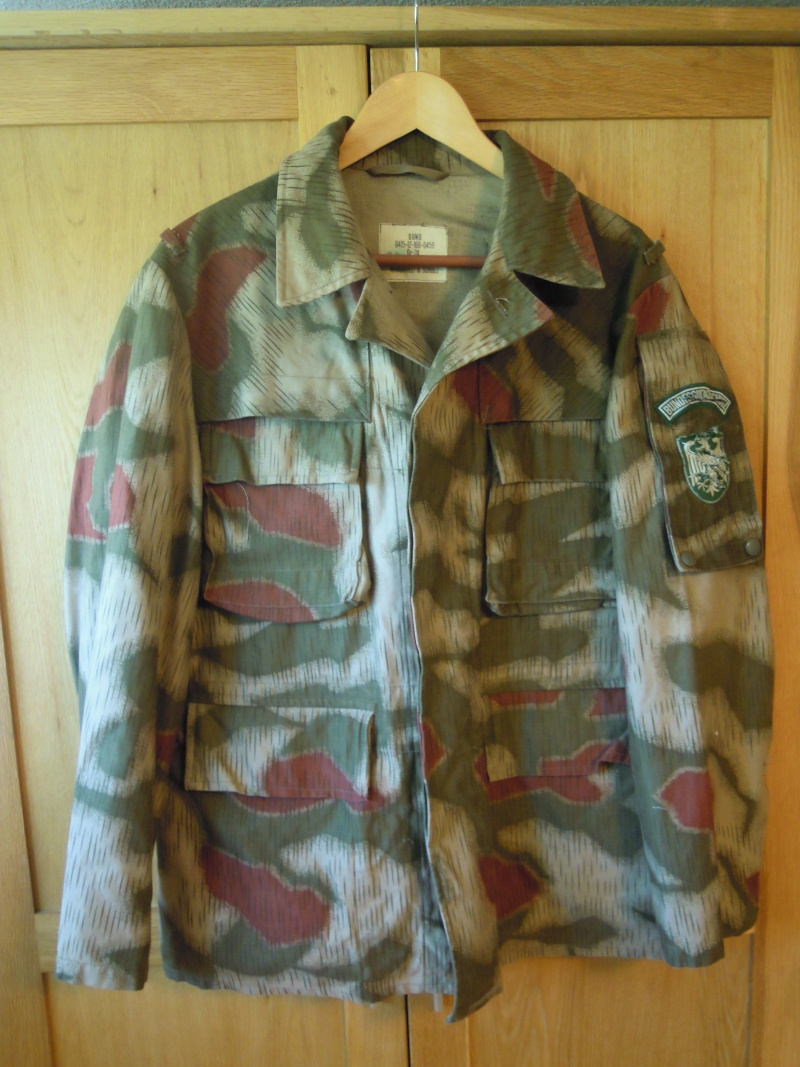 Example of one ,,cut up,, BGS Sumpftarn jacket Dscn1859