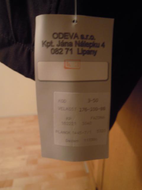 Slovakian M98 Fall/Winter Service-Jacket K640_d31